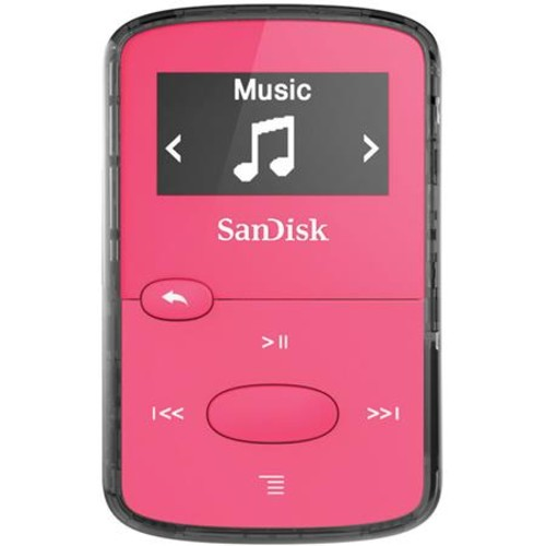Sandisk 8GB Clip Jam MP3 Player - Pink SDMX26-008G-G46P