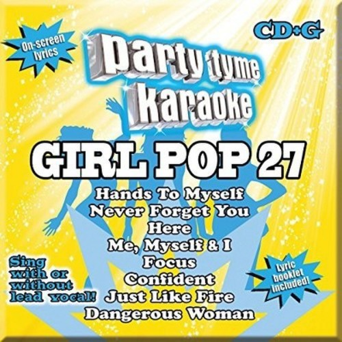 Party Tyme Karaoke: Girl Pop, Vol. 27 [CD]
