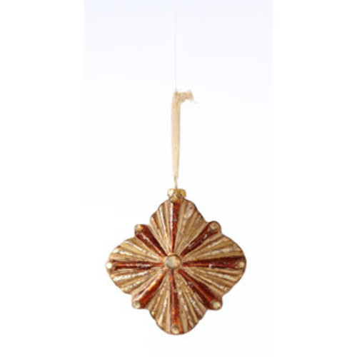 Sage & Co 4.5-inch Glass Burst Christmas Ornament (Pack of 12)