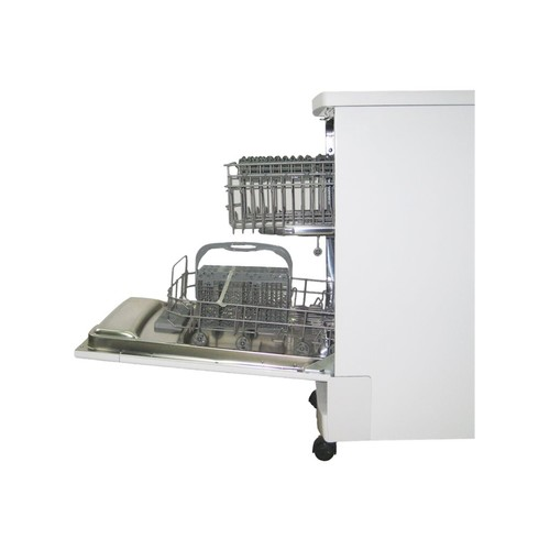 SPT 18 in. Front Control Portable Dishwasher in Stainless Steel with 8 Place Settings Capacity SD-9241SS