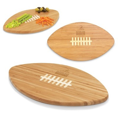 Picnic Time NFL Touchdown Pro! Cutting Board - Cleveland Browns Engraved