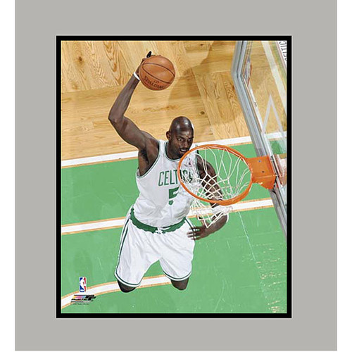 Boston Celtics' Kevin Garnett Matted Photo