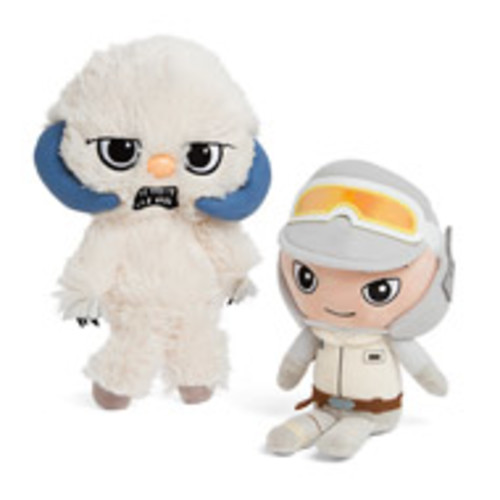 Star Wars Wampa and Hoth Luke Plush Set Exclusive