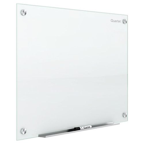 QuartetInfinity Frameless Glass Dry-Erase Board, Non-Magnetic, 96