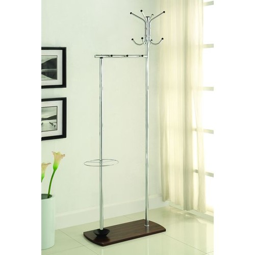 Coaster Company Home Furnishings Coat Rack, Chrome