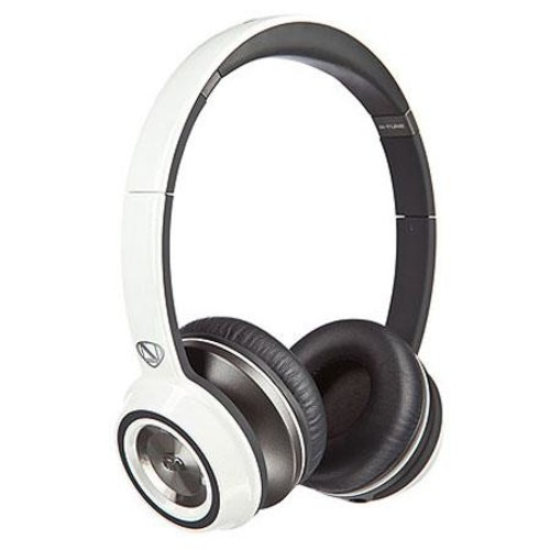 Monster NCredible N-Tune On-Ear Headphones, Frost White 128451
