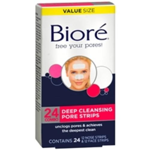 Biore Deep Cleansing Pore Strips Combo