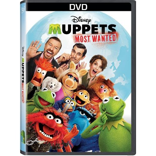 Muppets Most Wanted - DVD