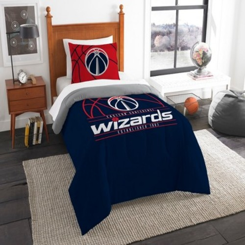 Golden State Warriors Reverse Slam Twin Comforter Set by Northwest
