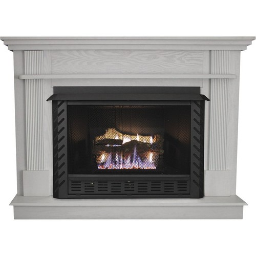 Ashley Hearth Products Fireplace Mantel White, Model# AG34MK-W