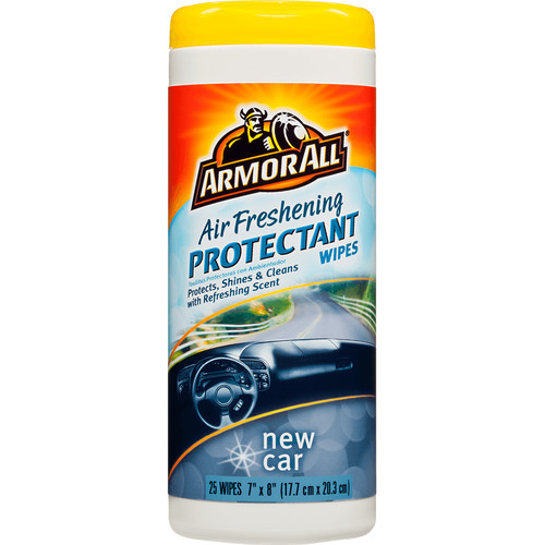 Armorall NEW CAR PROTECTANT WIPE 25CT