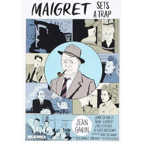 Maigret Sets A Trap (DVD)