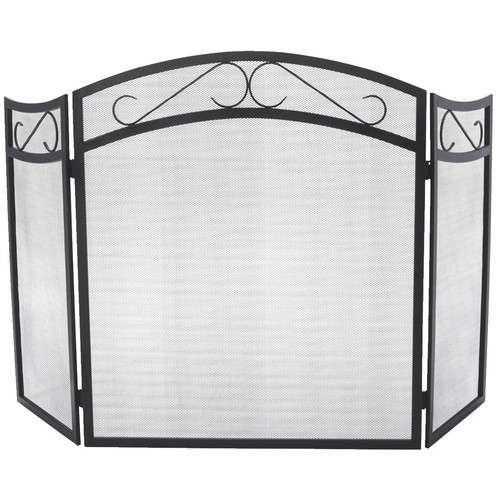 Home Impressions 3-Panel Fireplace Screen - FS01