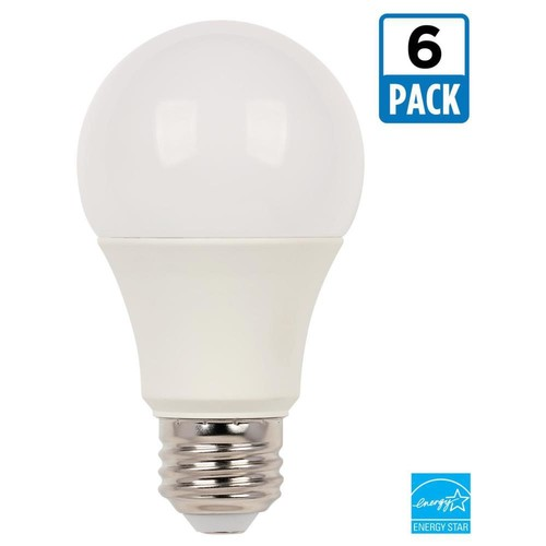 Westinghouse 60W Equivalent Soft White Omni A19 Dimmable ENERGY STAR LED Light Bulb (6-Pack)