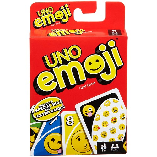 Mattel Games UNO Emoji Card Game