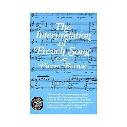 The Interpretation of French Song (Paperback)