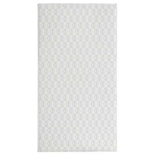 Dream On Me Breathable 6 inch Full-Size Firm Foam Crib and Toddler Bed Mattress - White