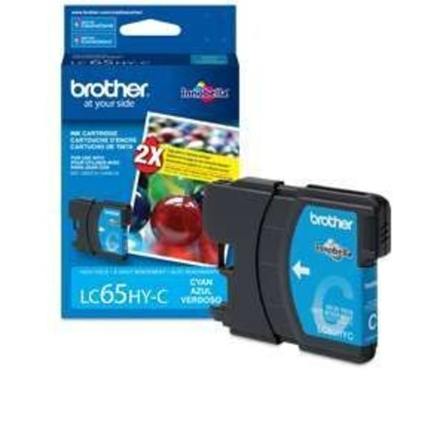 Brother LC65HY-C - High Yield - cyan - original - ink cartridge - for MFC-5890CN, MFC-5895CW, MFC-6490CW, (LC65HYC)