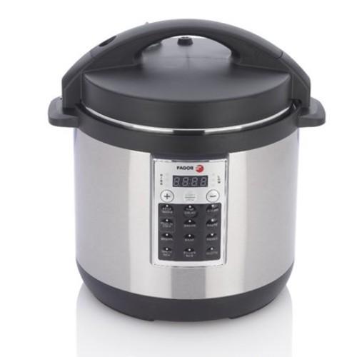 Fagor - Premium Electric Pressure Cooker - Size: 6 Quart - Multi