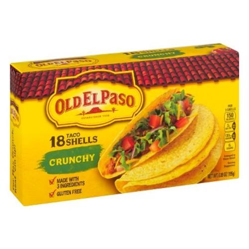 El Paso Crunchy Taco Shells Gluten Free 18 ct