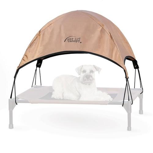K&H Pet Products Pet Cot Canopy Medium Tan 25
