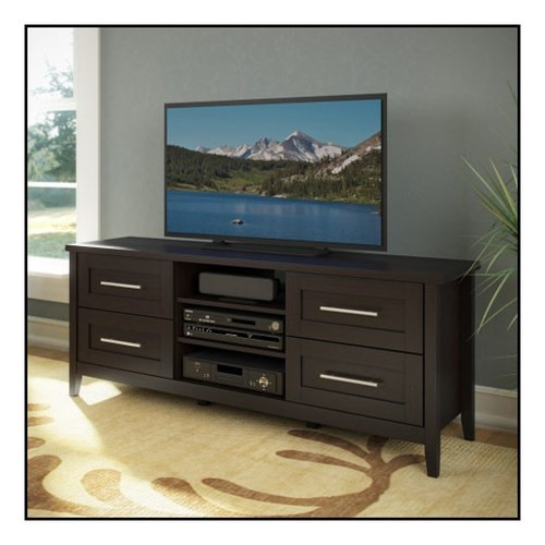 CorLiving - Jackson TV Bench for Most Flat-Panel TVs Up to 60