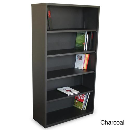 Marvel Book & Display Cases Ensemble 5-shelf Bookcase [option : Charcoal]