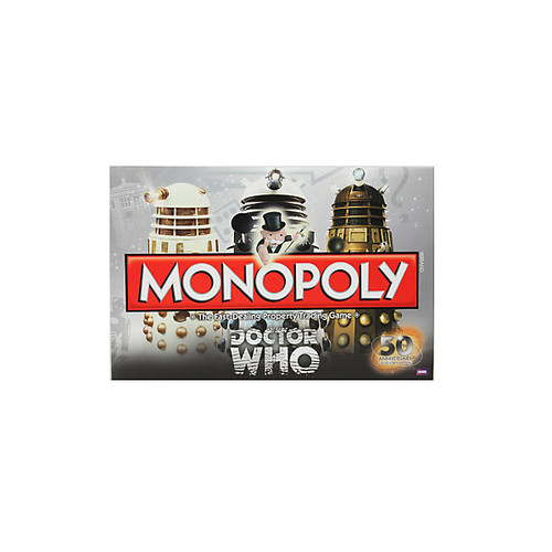 Doctor Who Monopoly 50th Anniversary Collector's Edition Board Game