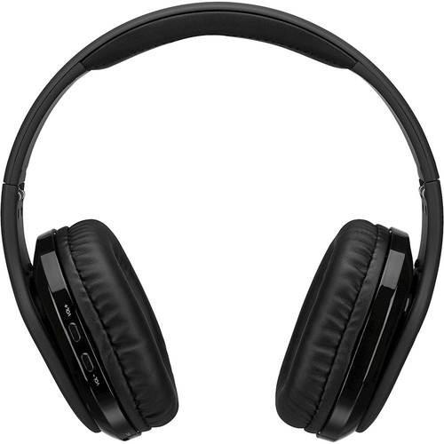 iLive - Platinum Wireless Noise Canceling Over-the-Ear Headphones - Black