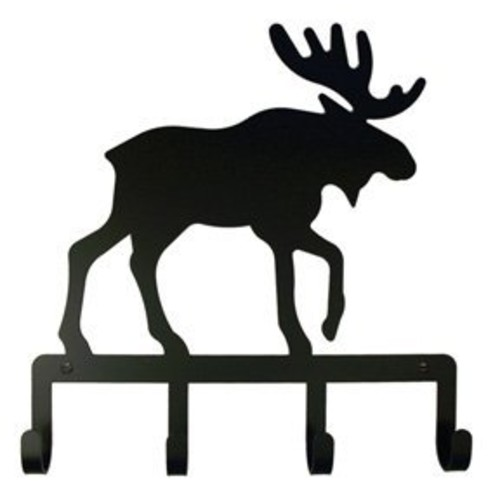 8 Inch Moose Key Holder
