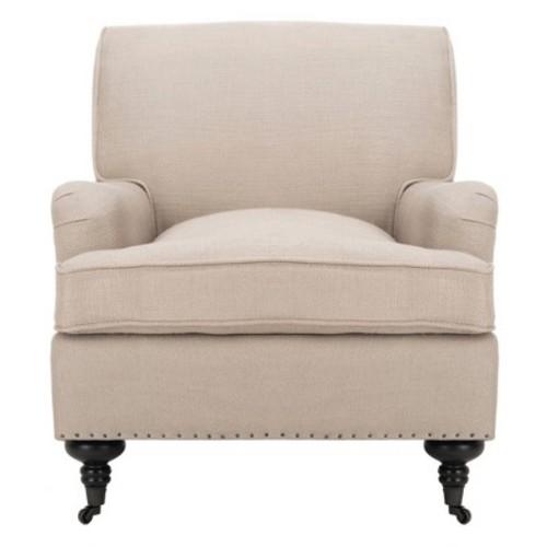 Sasha Club Chair Tan - Safavieh