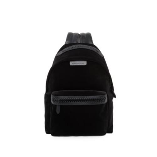 Falabella Medium Velvet & Faux Leather Backpack