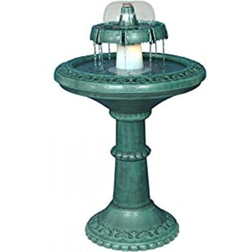 Alpine TEC102 Fountain With Bell Shaped Fountain & Light