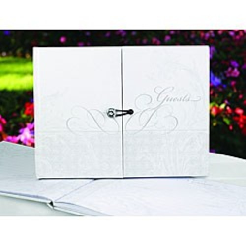 HBH Midnight Rendezvous Guest Book, Black