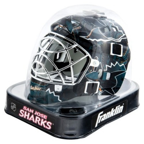 Franklin NHL San Jose Sharks Mini Goalie Mask