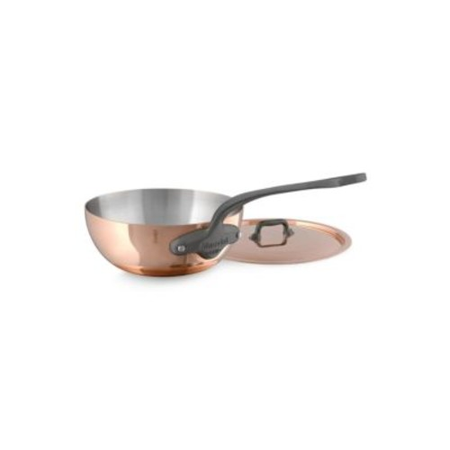 M'150C2 Copper & Stainless Steel Curved Saute Pan