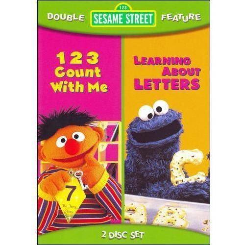 Sesame Street Double Feature: 123 Count With Me/Learning About Letters: Various: Movies & TV