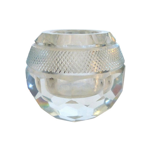 English Facet-Cut Crystal Match Striker