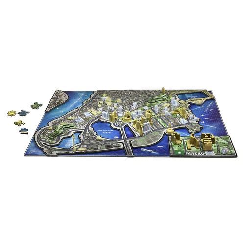 4D Cityscape: Macau, China 1000-Piece 3D Time Puzzle by 4D Cityscape