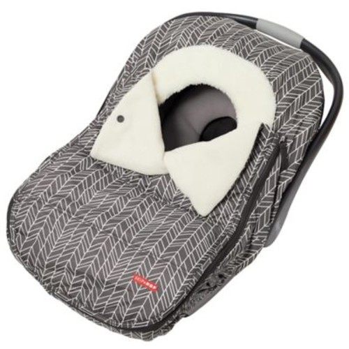 SKIP*HOP Stroll & Go Universal Car Seat Cover in Feather Grey