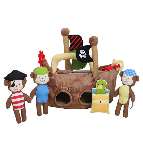 Alma's Designs Pirate Ship Soft Activity Kit