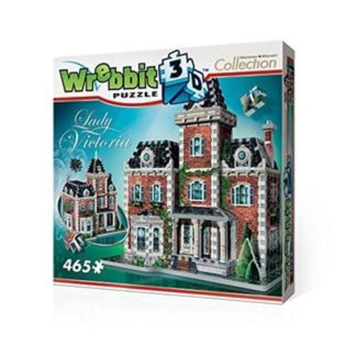 Wrebbit Puzzles Lady Victoria 3D Jigsaw Puzzle, 465-Piece