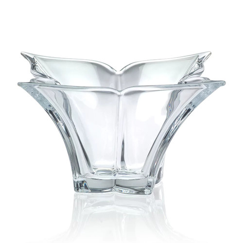 Mikasa Florale 14-Inch Crystal Bowl