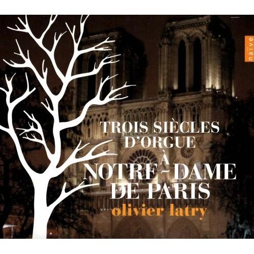 Three Centuries Of Organ Music At Notre Dame Paris - CD