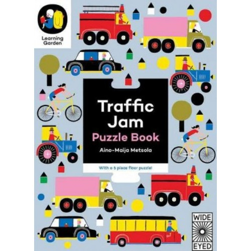 Traffic Jam: Puzzle Book - With a 6-Piece Floor Puzzle! (Board book)