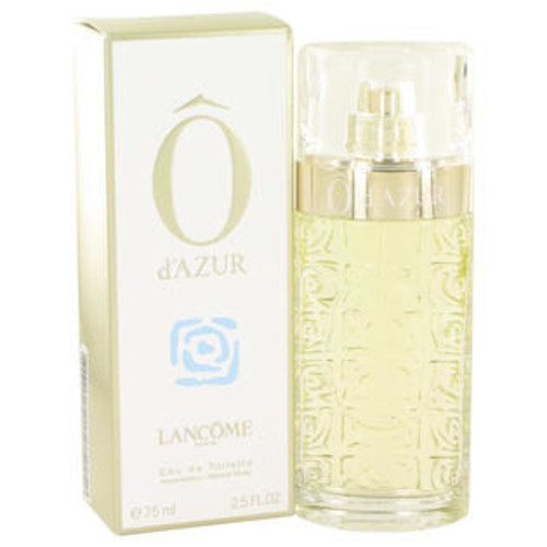 Lancome Eau De Toilette Spray 2.5 Oz O D'azur Perfume By Lancome For Women
