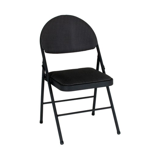 Cosco Black Folding Chair (Set of 4)