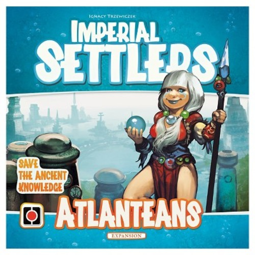 Portal Games Imperial Settlers Game Atlanteans Expansion Pack
