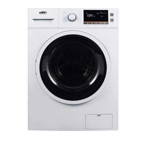 SUMMIT 2 cu. ft. All-in-One Washer and Electric Ventless Dryer in White