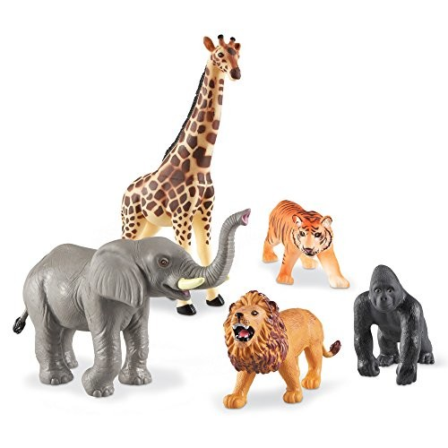 Learning Resources Jumbo Jungle Animals [Standard Packaging]